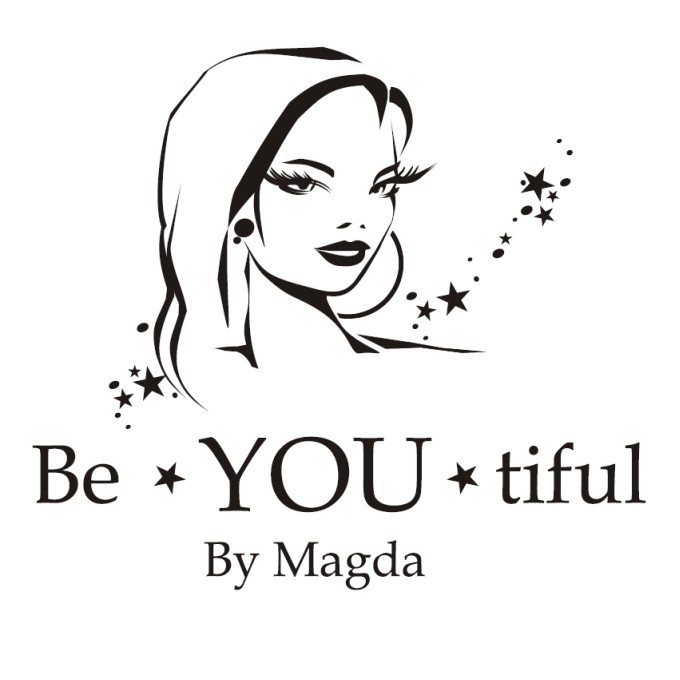 Logotyp Be-YOU-tiful by Magda